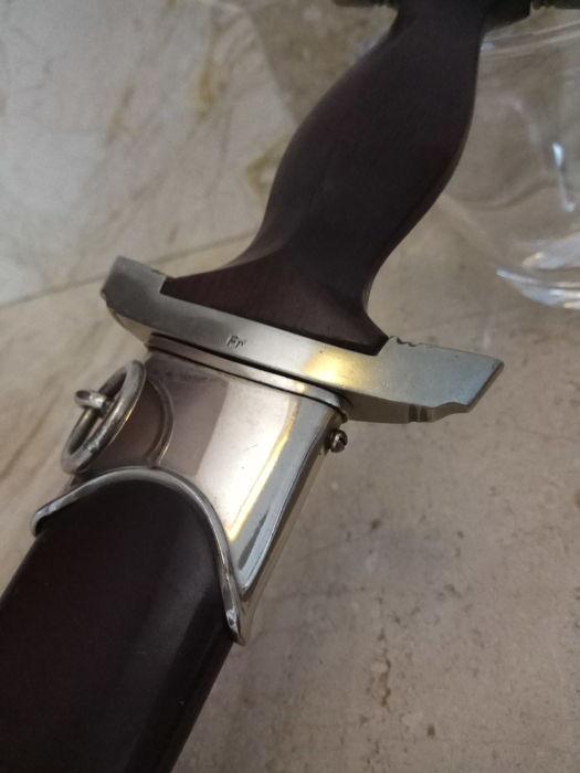 Фото: Найден нацистский нож в отличной сохранности
