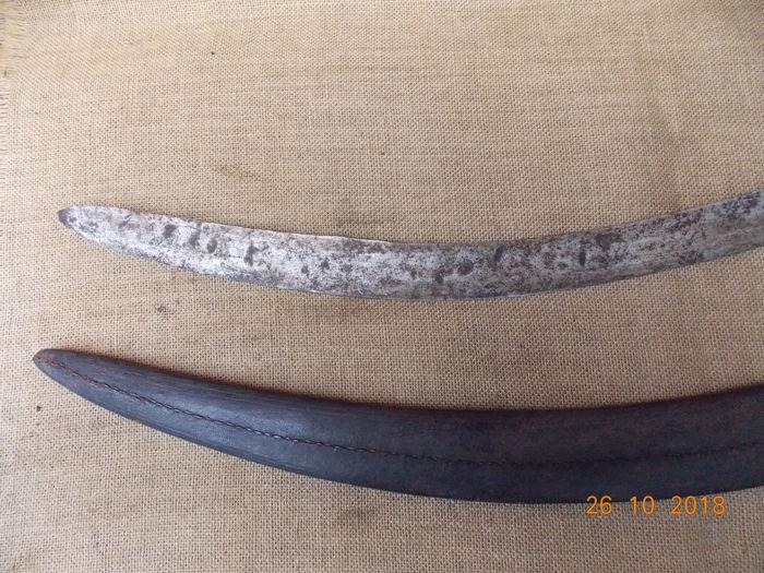 Фото: Найдена сабля Индийского происхождения