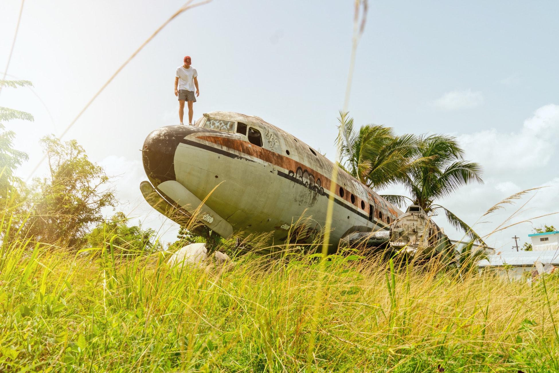Заброшенные самолеты (Фото подборка)