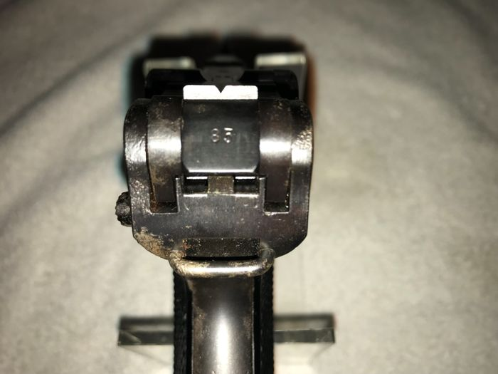 Фото: Вот это находка! Немецкий пистолет 1942 года