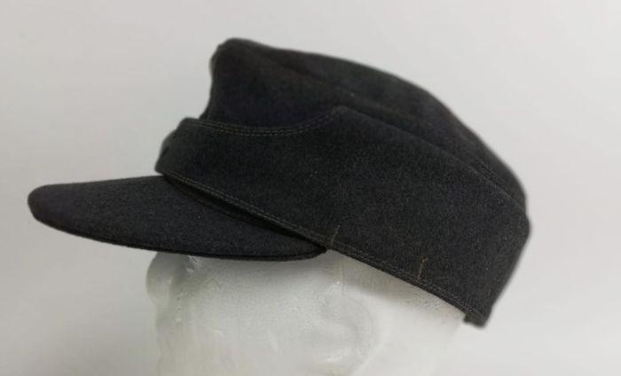 Подлинная немецкая полевая кепка M43 Второй Мир...