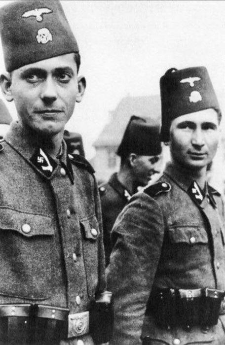 Фото: Шапка солдат не признаных Вермахтом    1943 год